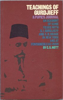 9780877283959: Teachings of Gurdjieff: A Pupil's Journal