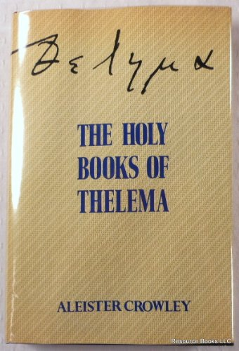 9780877285793: The Holy Books of Thelema