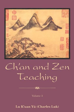9780877287988: Ch'an and Zen Teaching: v.3: Vol 3