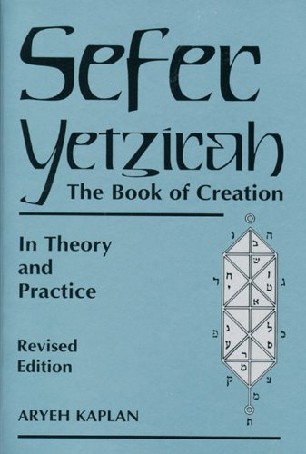 9780877288558: Sefer Yetzira/the Book of Creation: The Book of Creation in Theory and Practice