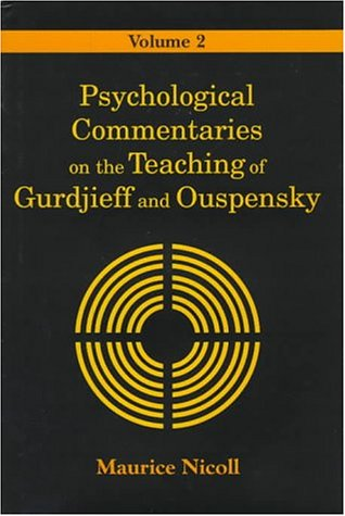 9780877289005: Psychological Commentaries on the Teaching of Gurdjieff and Ouspensky, Vol. 2