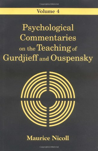 9780877289029: Psychological Commentaries on the Teaching of Gurdjieff and Ouspensky: 4