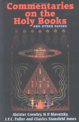 9780877289050: The Equinox: Commentaries on the Holy Books v.4, No.1: Commentaries on the Holy Books Vol 4, No.1