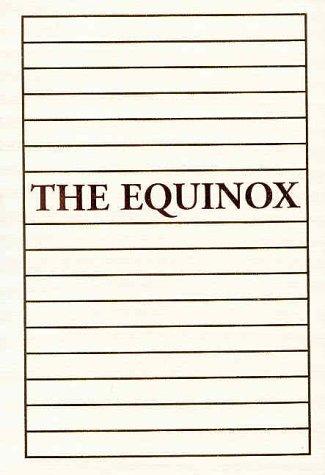 9780877289265: The Equinox: 2 Volume Set (Vol 1)