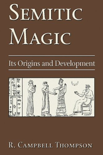 9780877289326: Semitic Magic: Its Origins and Development