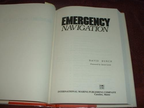 9780877422044: Emergency Navigation