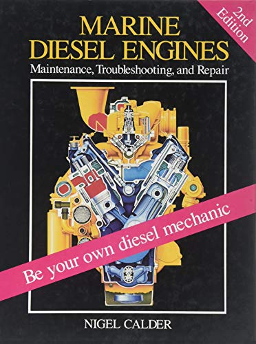 9780877423133: Marine Diesel Engines: Maintenance, Troubleshooting, and Repare: Maintenance, Troubleshooting and Repair