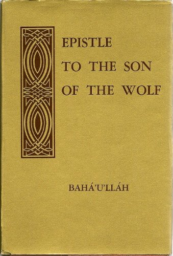 9780877430483: Epistle to the Son of the Wolf