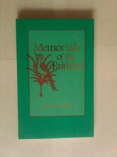 9780877432425: Memorials of the faithful