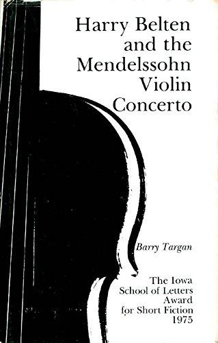 9780877450603: Harry Belten and the Mendelssohn violin concerto