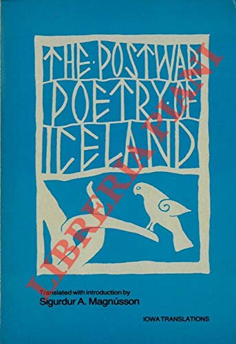 9780877451150: The Postwar Poetry of Iceland (Iowa Translations) (English and Icelandic Edition)