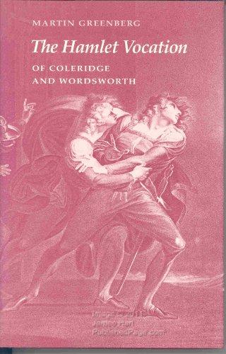 9780877451310: The Hamlet Vocation of Coleridge and Wordsworth