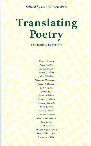 9780877452256: Translating Poetry: The Double Labyrinth