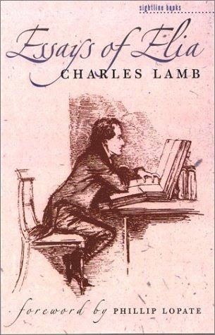 9780877458517: Essays of Elia (Sightline Books: the Iowa Series in Literary Nonfiction)