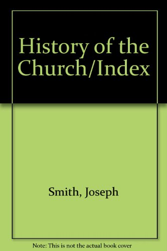 9780877472919: History of the Church/Index