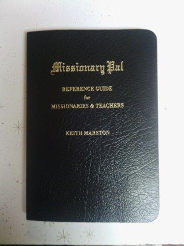 Missionary Pal: Keith Marston