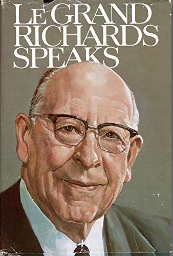 9780877474692: Le Grand Richards Speaks