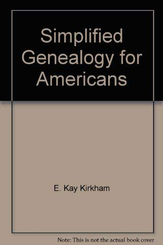 9780877476610: Simplified Genealogy for Americans