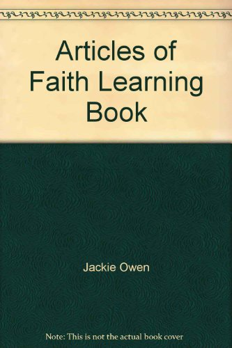 9780877479222: Articles of Faith Learning Book