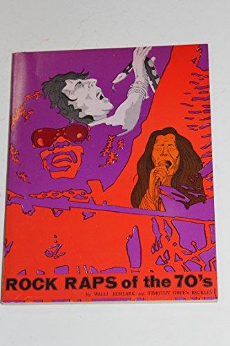 9780877492856: ROCK RAPS OF THE 70'S.