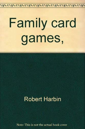 9780877494331: Family card games,