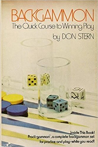 Backgammon: the quick course to winning play: Don Stern