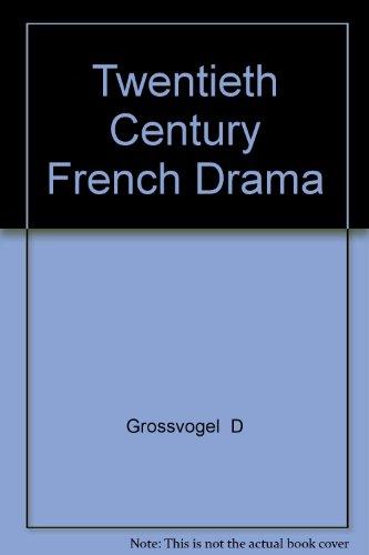 9780877520481: Twentieth Century French Drama