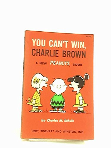 9780877521211: You Can't Win, Charlie Brown