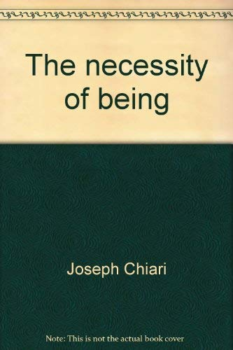 The necessity of being: Joseph Chiari