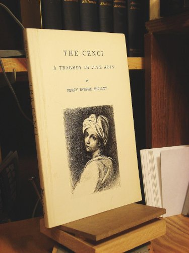 9780877530350: Cenci: A Tragedy in Five Acts