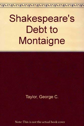 9780877530398: Shakespeare's Debt to Montaigne