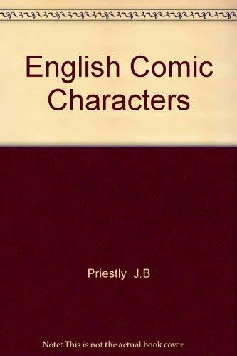 9780877530527: English Comic Characters