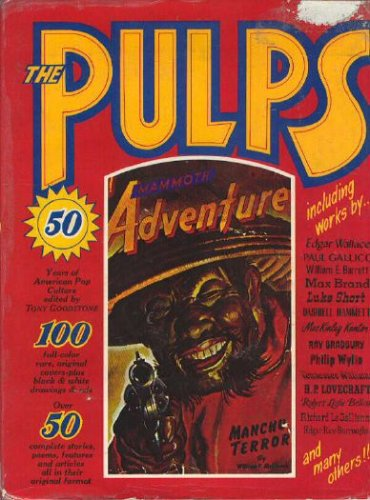 9780877540168: The pulps: Fifty years of American pop culture
