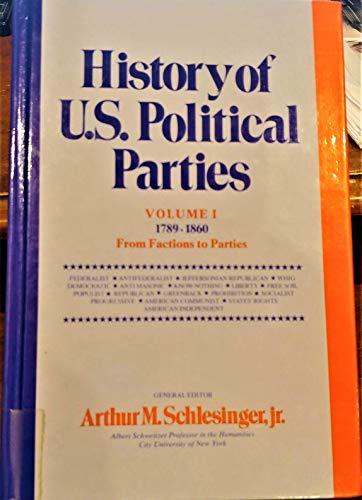 History of U.S. Political Parties 1789-1972, Vol.: Schlesinger, Arthur Meier