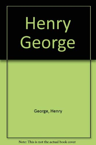 9780877541646: Henry George