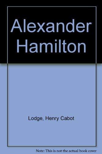 9780877541790: Alexander Hamilton (American statesmen series)