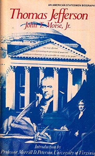 9780877541837: Thomas Jefferson (American statesmen series)