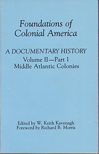 9780877542087: Foundations of Colonial America: A Documentary History
