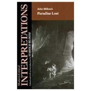 "9780877544210: John Milton's ""Paradise Lost"" (Modern Critical Interpretations)"