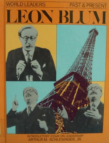9780877545118: Leon Blum (World Leaders Past & Present)