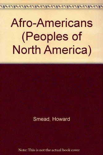 9780877548546: Afro-Americans(oop) (Peoples of North America)