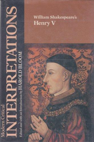 9780877549277: William Shakespeare's Henry V (Bloom's Modern Critical Interpretations)