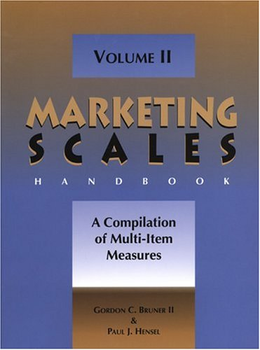 9780877572619: 2: Marketing Scales Handbook, Volume II: A Compilation of Multi-Item Measures