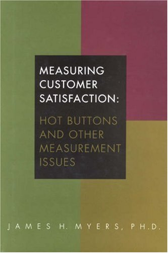 9780877572763: Measuring Customer Satisfaction: Hot Buttons and Other Measurement Issues