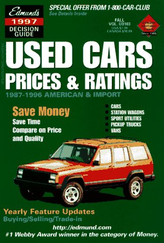 9780877596240 Edmund S 1998 Used Cars Prices Ratings Spring Edition