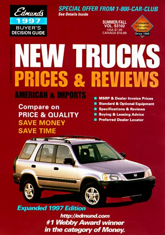 Edmund's New Trucks 1998: Prices & Review: Spring Edition (3 Times a Year): Edmunds ...
