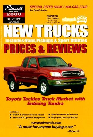 9780877596585: Edmunds.Com New Trucks: Prices & Reviews 2000 (Edmund's New Trucks Prices & Reviews)