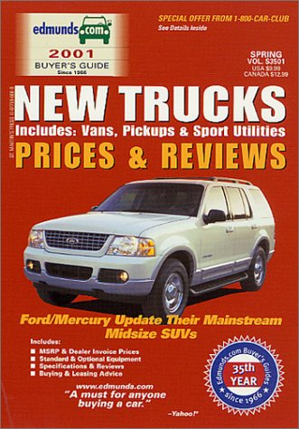 9780877596745: Edmund's New Trucks Prices and Reviews: Includes; Vans, Pickups and Sport Utilities (Edmund's New Trucks Prices & Reviews)