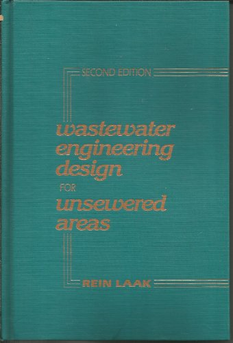 9780877624622: Wastewater Engineering Design for Unsewered Areas, Second Edition