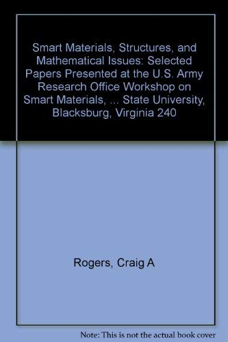 9780877626824: Smart Materials, Structures, and Mathematical Issues